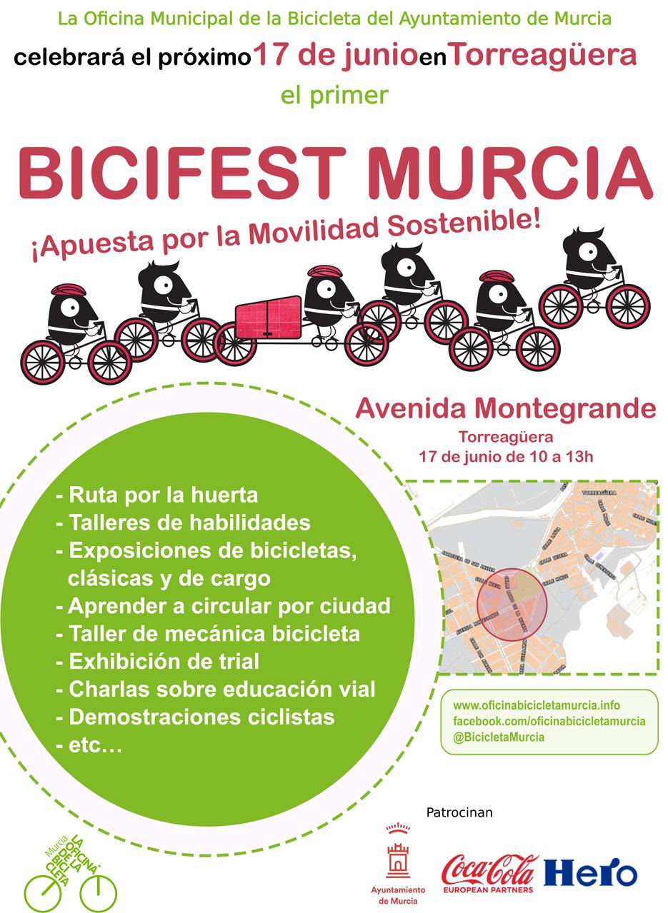 Bicifest, con el Ayto. de Murcia