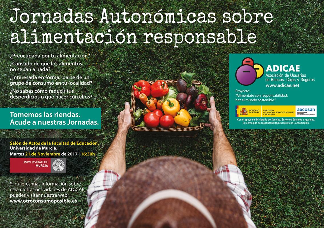 Jornada 'Aliméntate con responsabilidad, haz el mundo sostenible', con Adicae