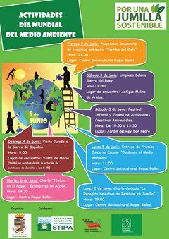 Programa de la Semana del Medio Ambiente de Jumilla