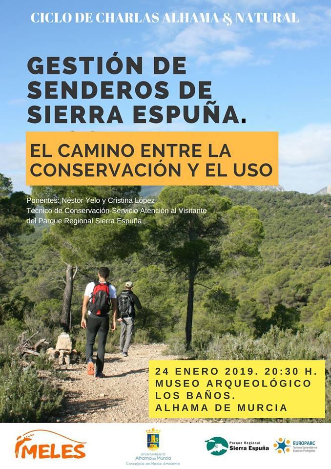 Gestión de senderos de Sierra Espuña, con MELES