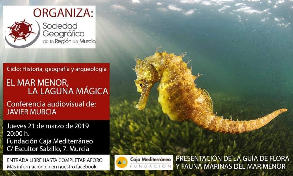 Conferencia audiovisual 'El Mar Menor, la laguna mágica', con la SGRM
