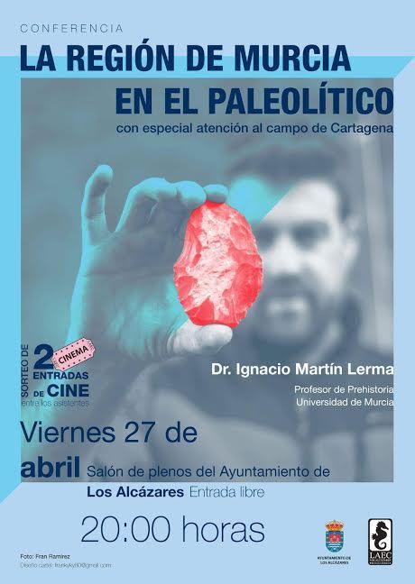'La Región de Murcia en el Paleolítico', con LAEC