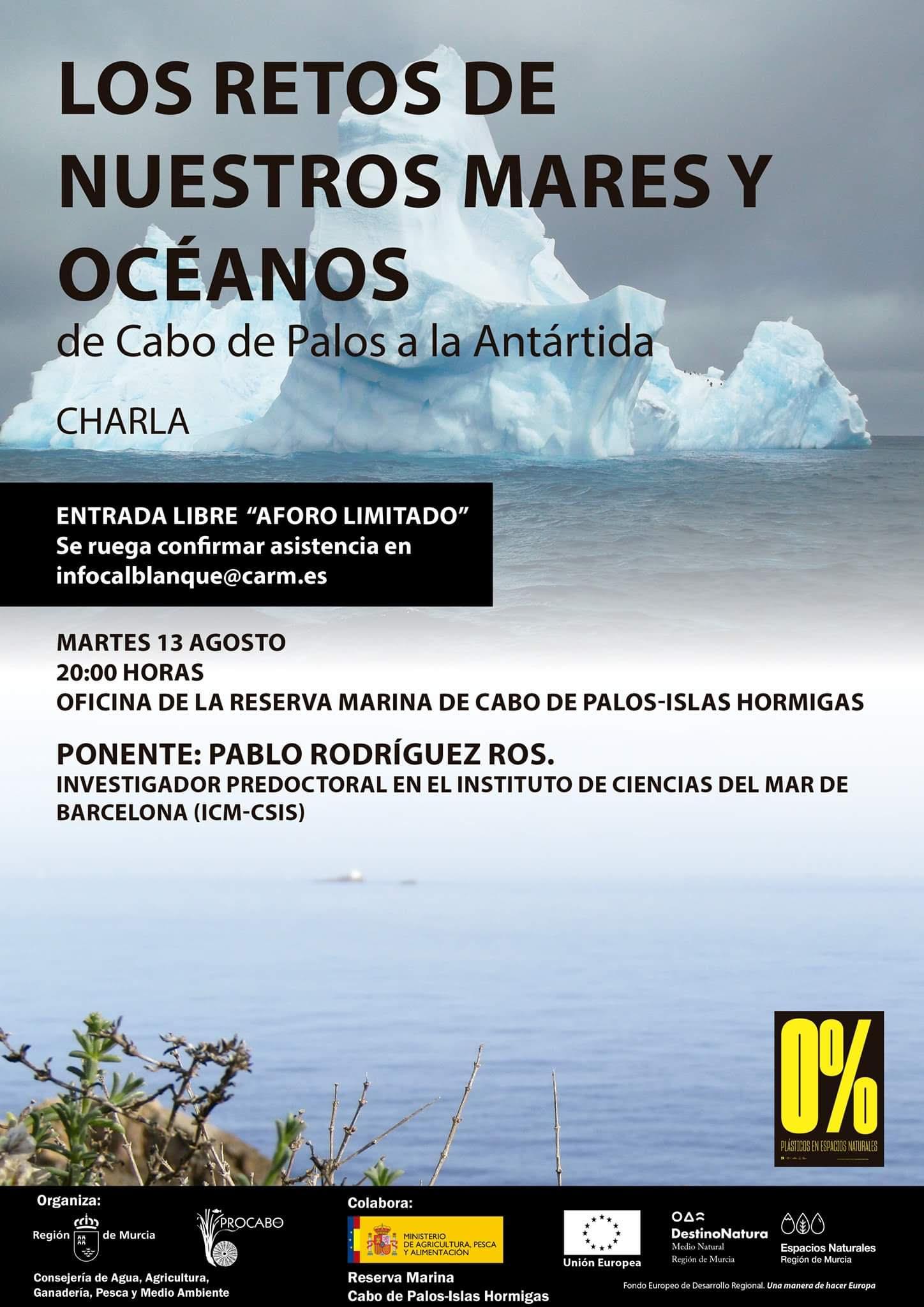 'Los retos de nuestros mares y océanos', con la CARM y Procabo