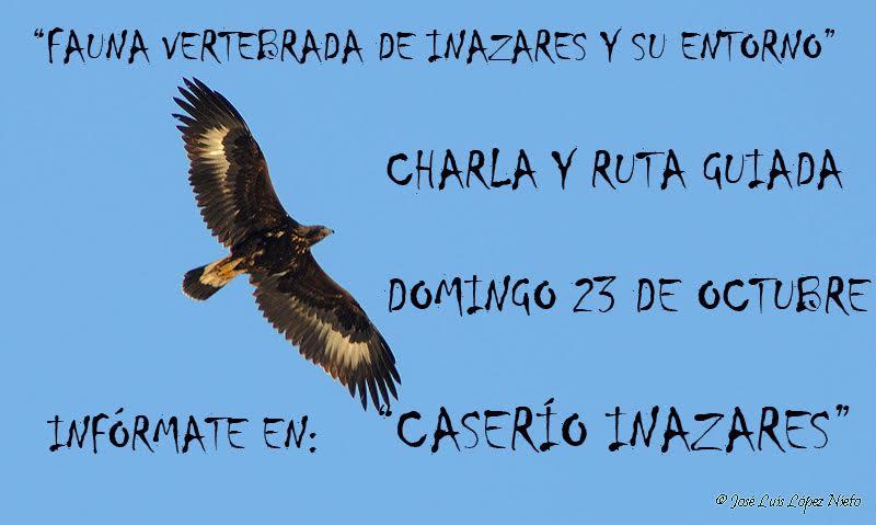 Charla y ruta sobre la Fauna de Inazares, con el Caserío Inazares.