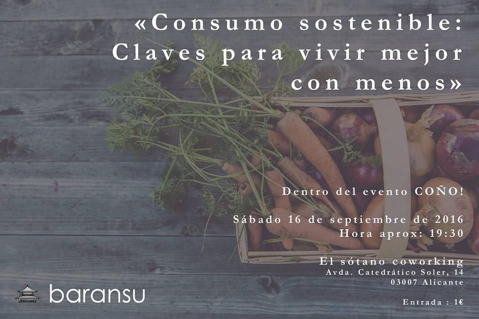 Charla sobre Consumo sostenible, con Baransu