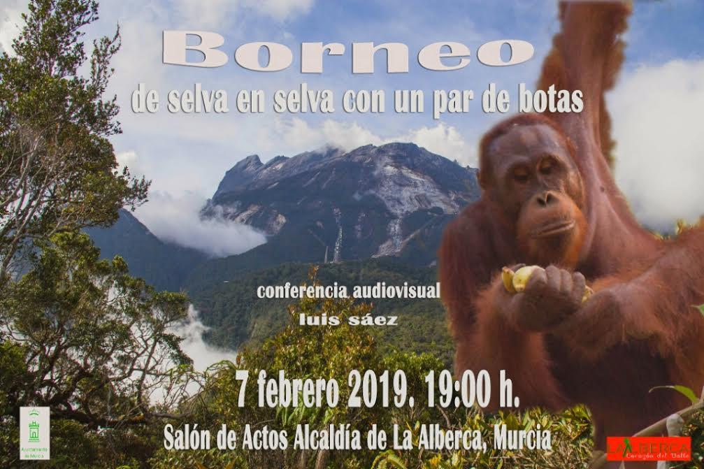 Charla sobre las selvas de Borneo, con el Ayto. de Murcia