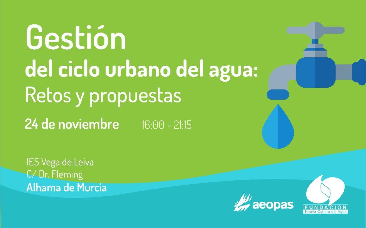 'La gestión del ciclo urbano del agua', con Aeopas