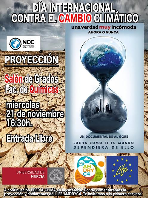 Jornada informativa sobre Cambio Climático, con Nueva Cultura por el Clima