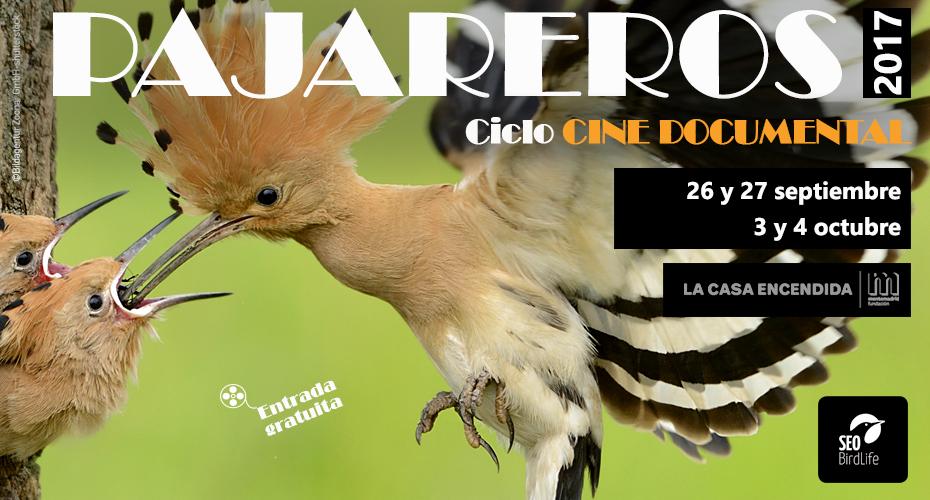 IV Ciclo de Cine Documental Pajareros, con SEO/BirdLife y La Casa Encendida