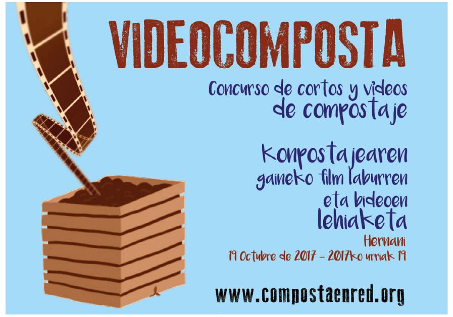 Concurso de cortos y vídeos de compostaje 'Videocomposta', con Composta en Red