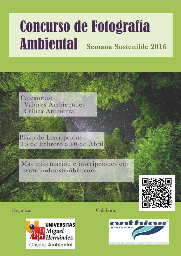 Concurso de Fotografía Ambiental 2016 de la UMH