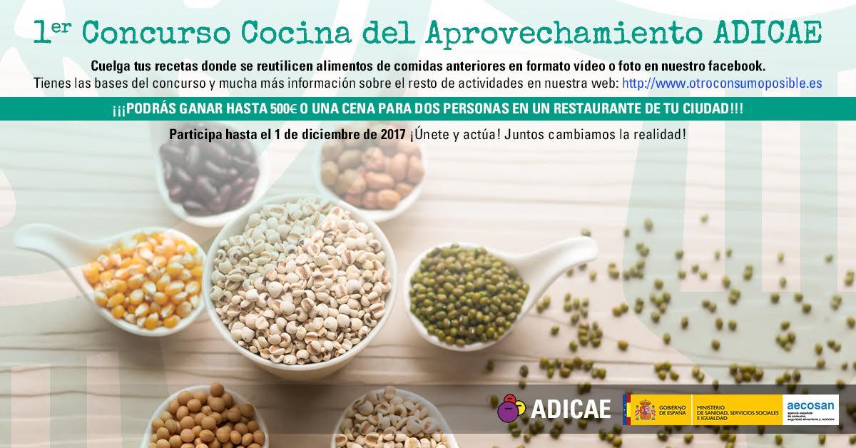 Concurso de 'Cocina del Aprovechamiento', con Adicae