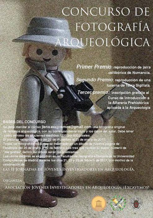 Concurso de fotografía arqueológica, con Arcona Difusión Cultural