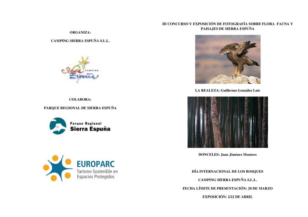 Concurso de fotos de Sierra Espuña, con Camping Sierra Espuña