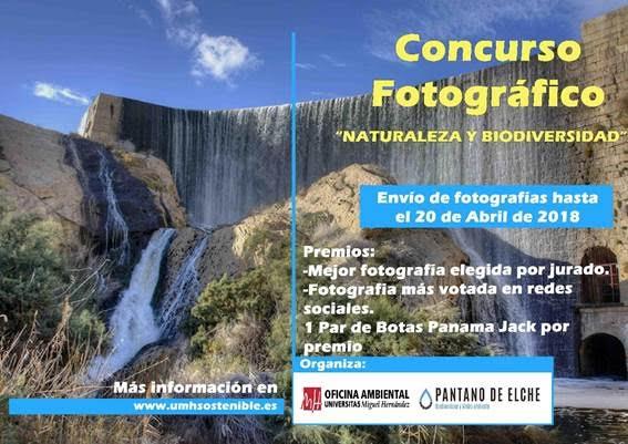 Concurso de fotos 'Naturaleza y Biodiversidad', con la UMH