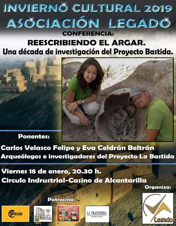 Conferencia sobre La Bastida, con Legado