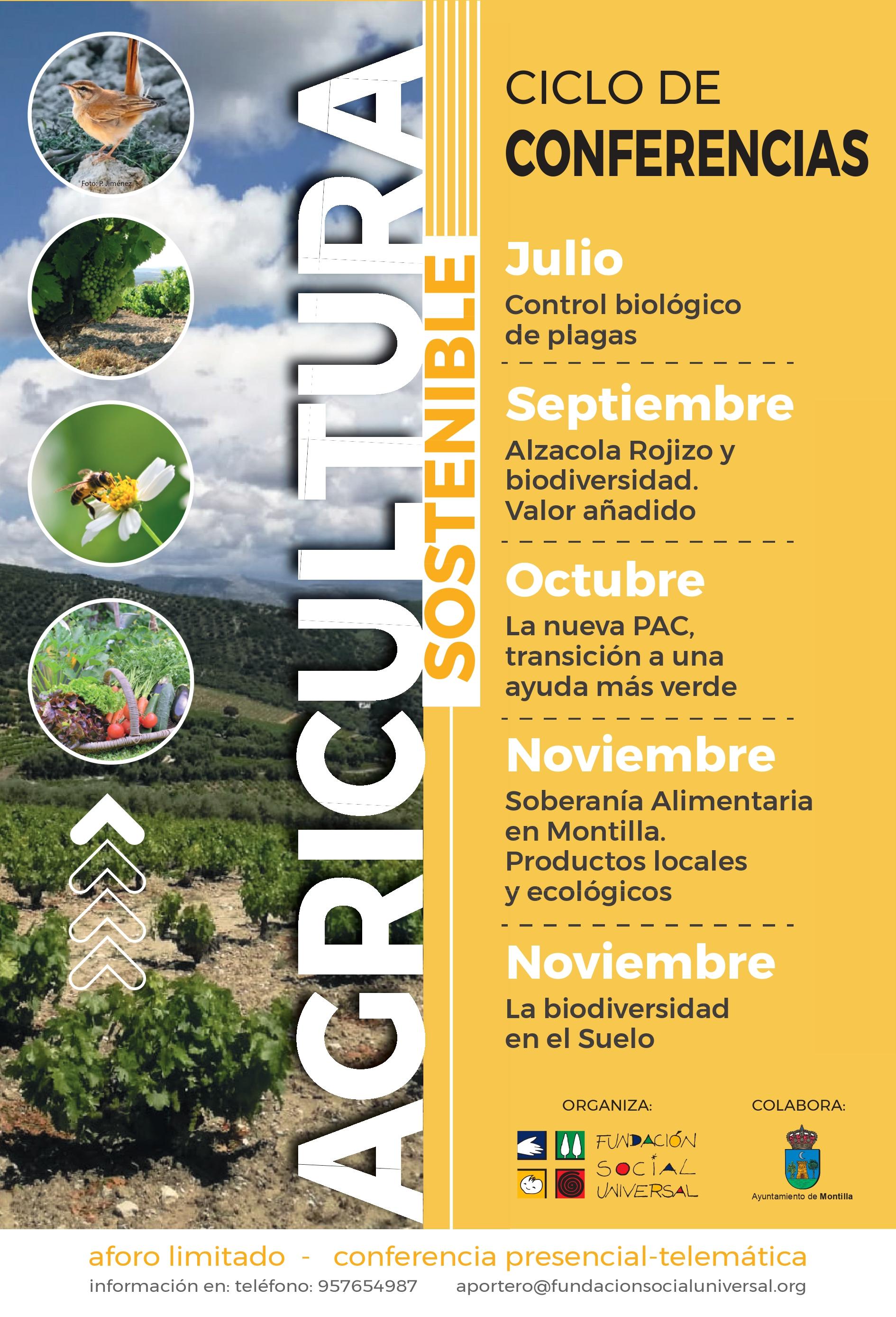 Ciclo de conferencias sobre agricultura sostenible, con FSU