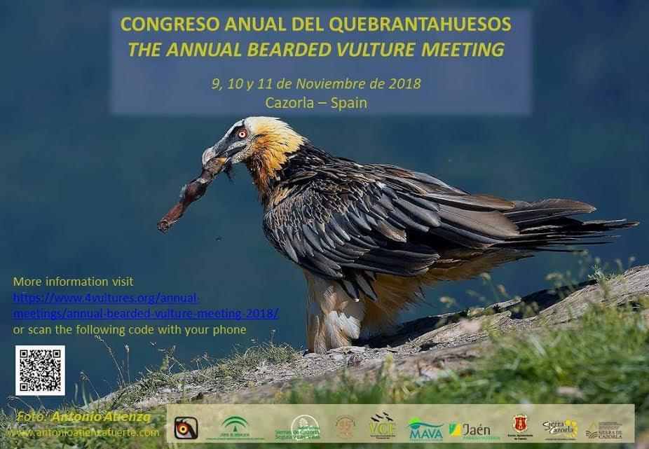 Congreso Anual del Quebrantahuesos, con Voulture Conservation Foundation