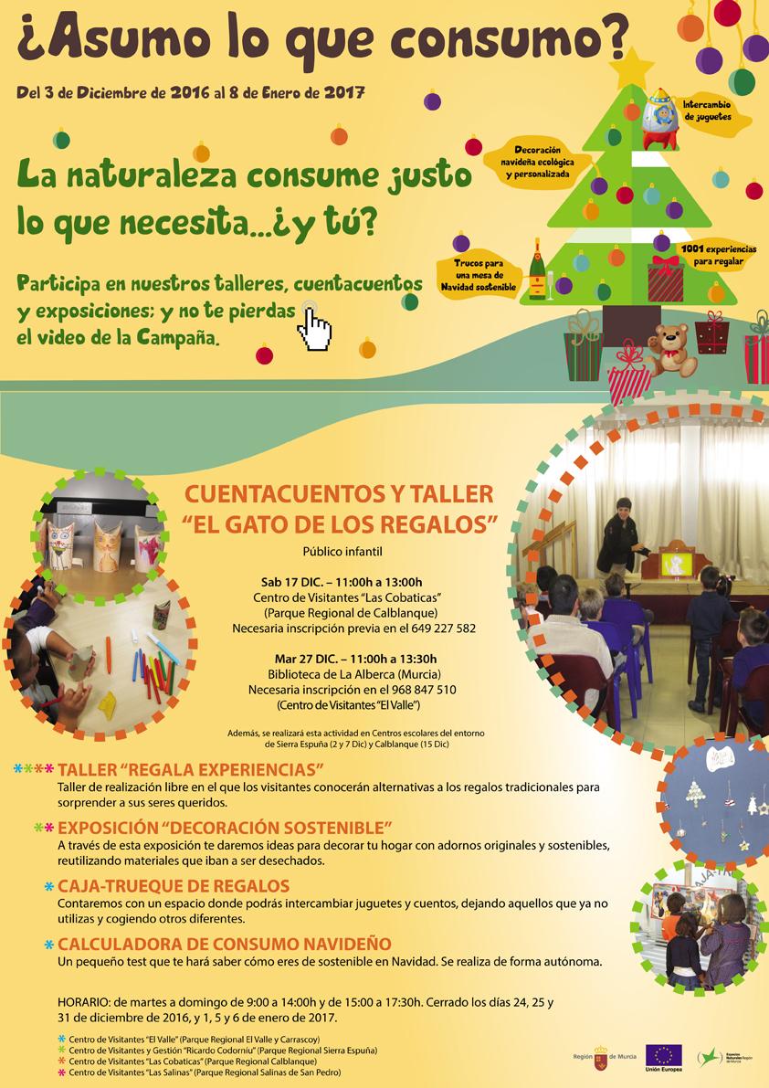 Campaña '¿Asumo lo que consumo?', con el Servicio de Atención al Visitante en los Espacios Naturales Protegidos de la Región de Murcia