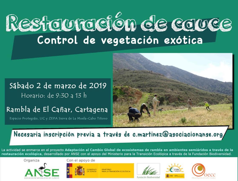 Control y eliminación de especies exóticas invasoras, con ANSE