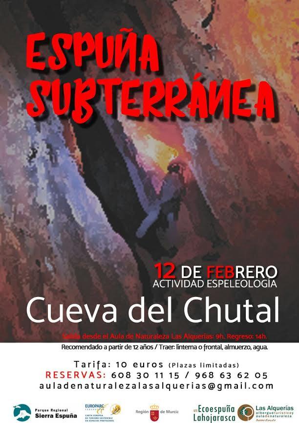 Cueva del Chutal, con el Aula de Naturaleza Las Alquerías