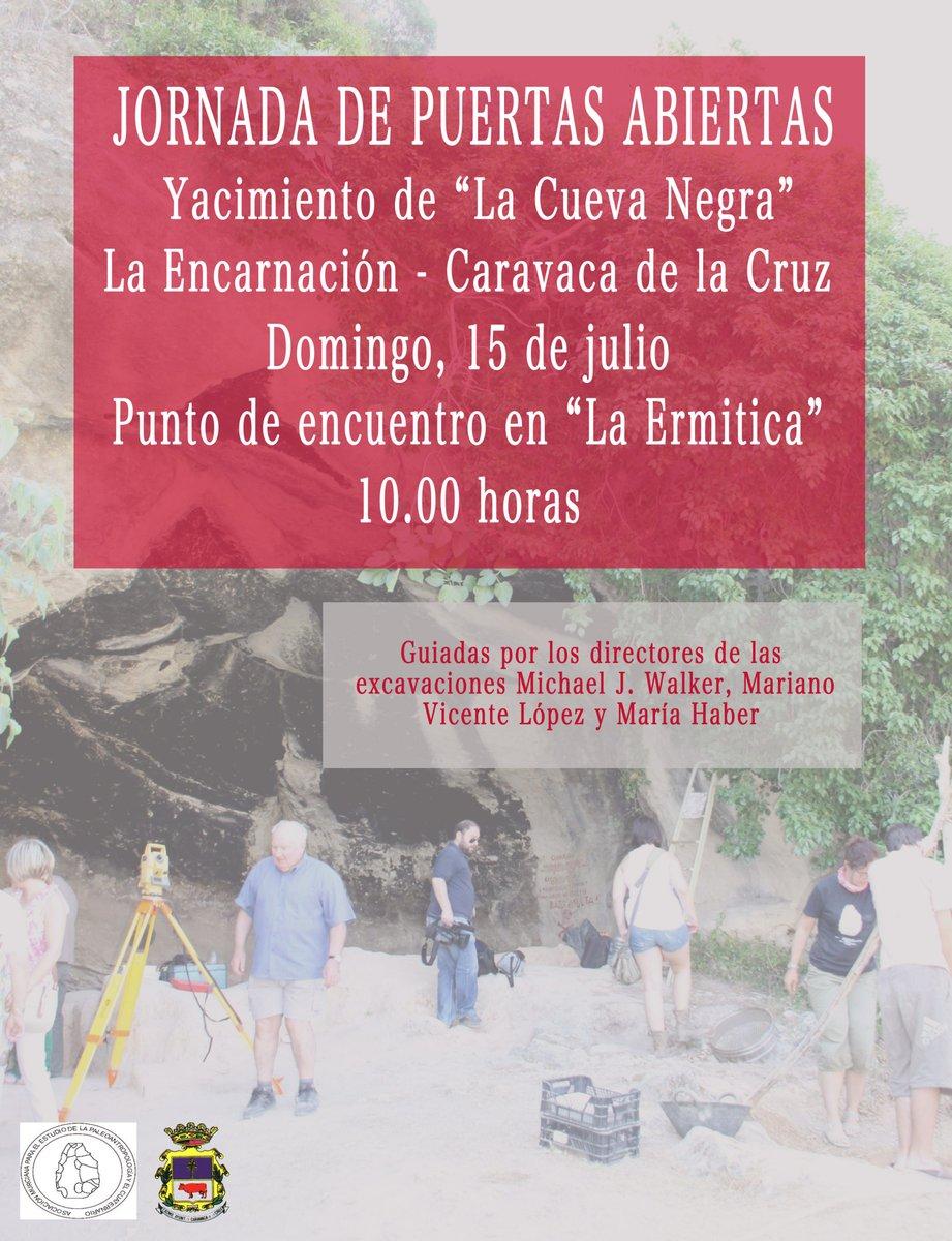 Puertas Abiertas en la Cueva Negra de Caravaca