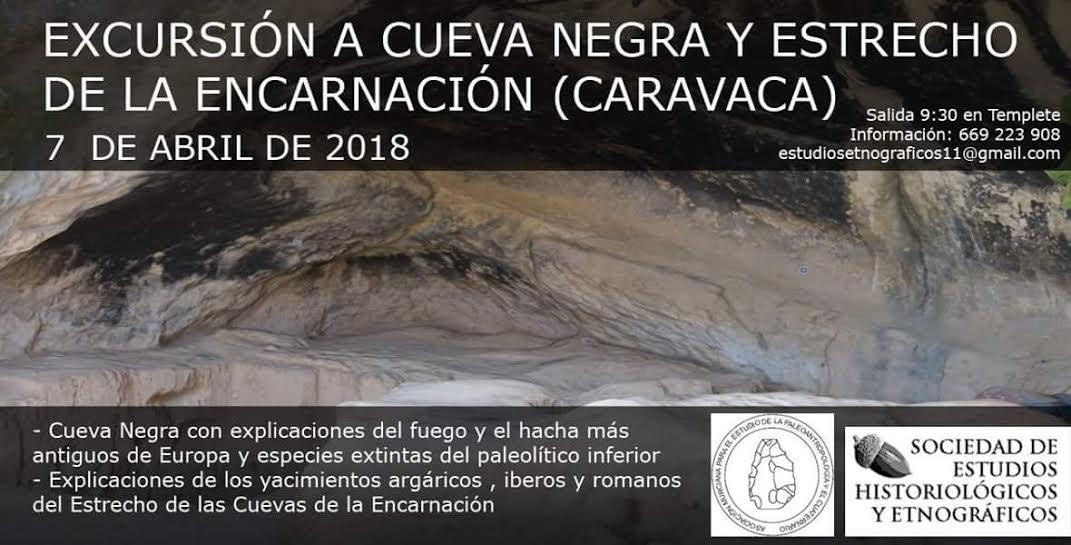 Excursión a la Cueva Negra de Caravaca, con SEHE