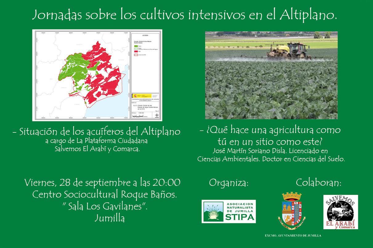 Jornada sobre los cultivos intensivos en el Altiplano, con Stipa
