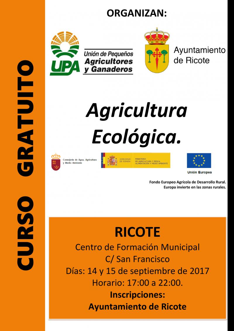 Curso de iniciación a la agricultura ecológica, con UPA