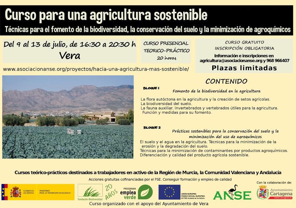 Curso de Agricultura Sostenible, con ANSE