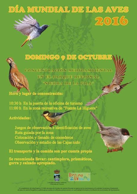 Día de las Aves en la Sierra de la Pila, con el Ayto. de Fortuna.