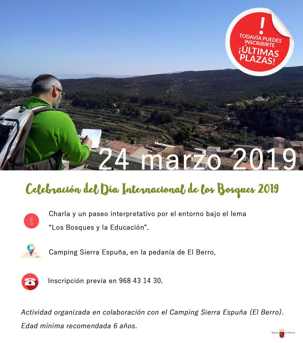 Día Internacional de los Bosques en Sierra Espuña, con la CARM