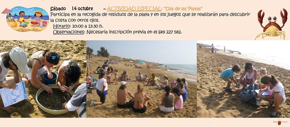 Día de las Playas en Calblanque, con la CARM