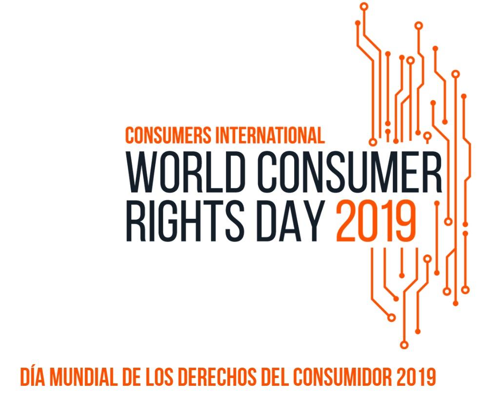 Día Derechos Consumidores, cartel