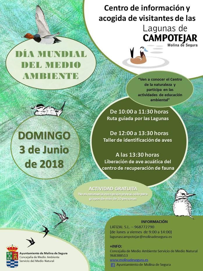 Día del Medio Ambiente en Campotéjar, con el Ayto. de Molina de Segura