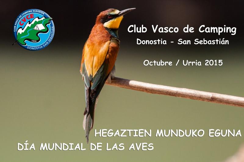 Jornadas de Ornitología con el Club Vasco de Camping