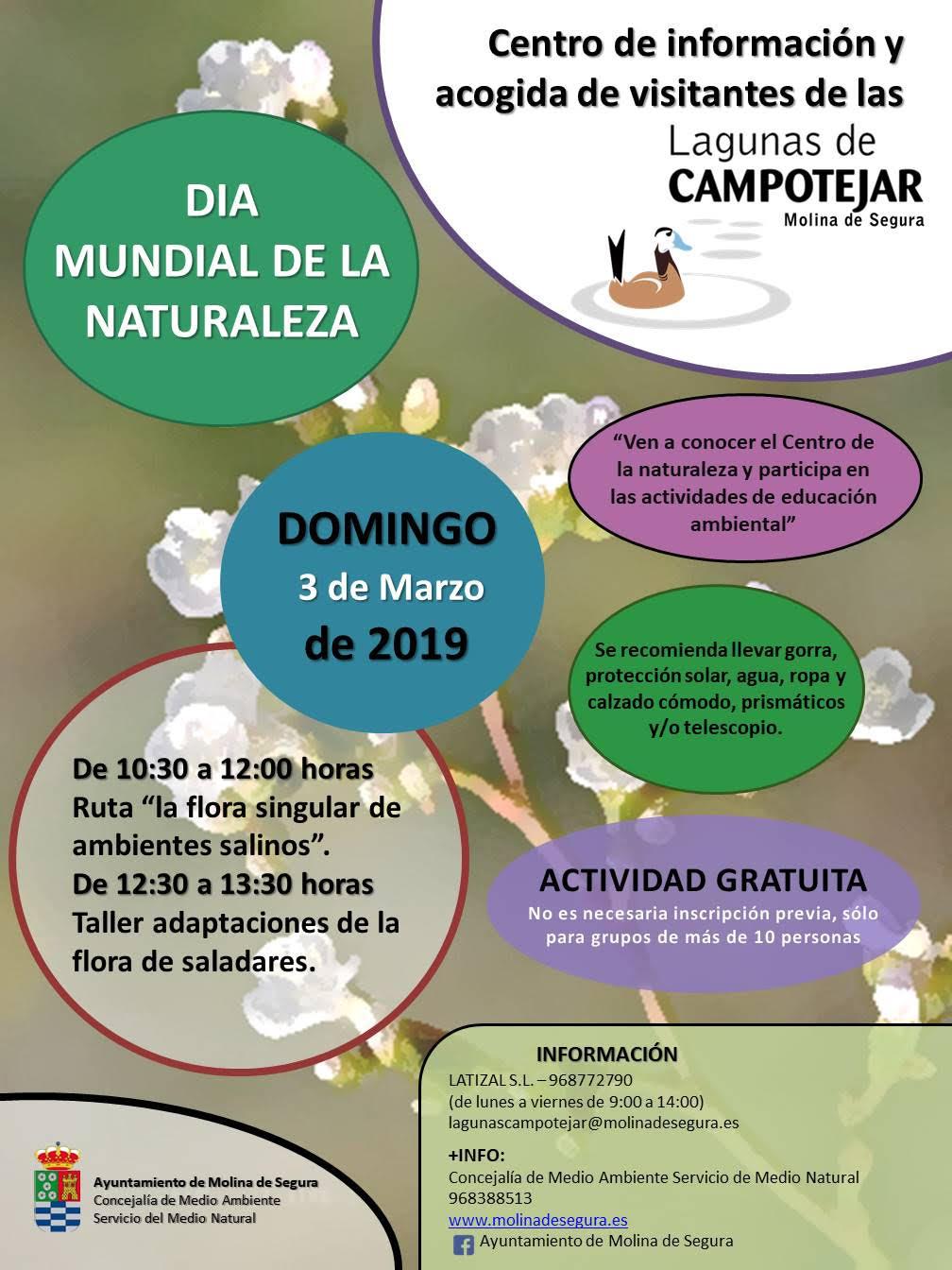 Día Mundial de la Naturaleza en CAMPOTEJAR, con el Ayto. de Molina