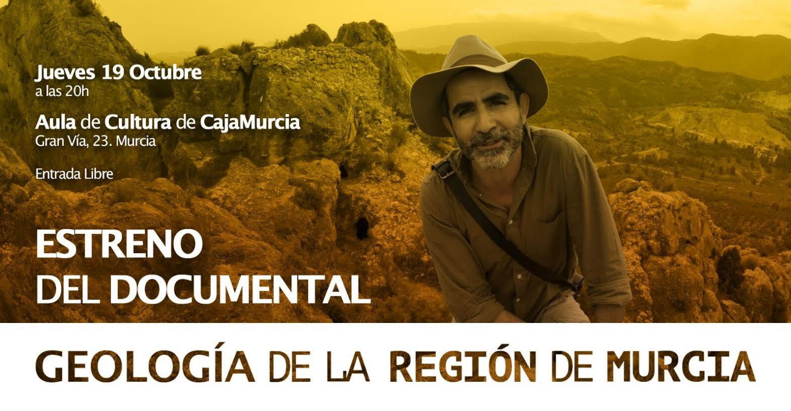 Documental sobre la geología de la Región de Murcia, con la Fundación Cajamurcia