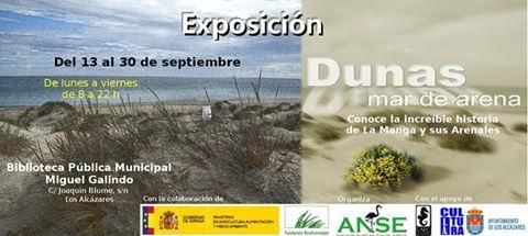 Expo 'Dunas, un mar de arena', con LAEC y ANSE