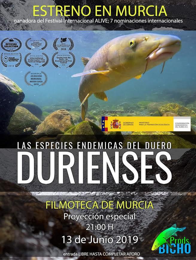 Película Durienses, con la Filmoteca Regional de Murcia