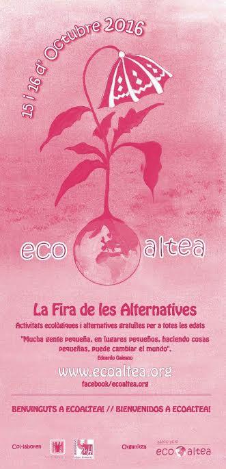 Feria Eco Altea Cartel