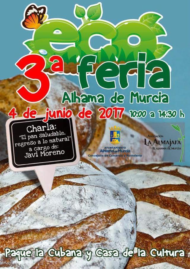 Ecoferia de Alhama, con el Ayto. de Alhama de Murcia