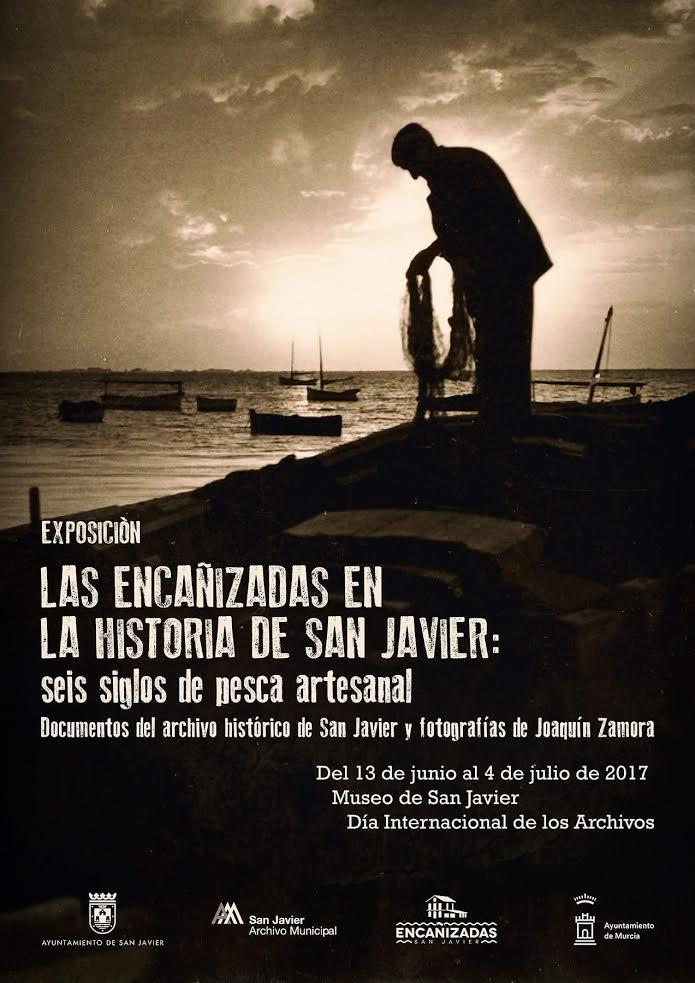 Expo sobre las encañizadas, con el Ayto. de San Javier