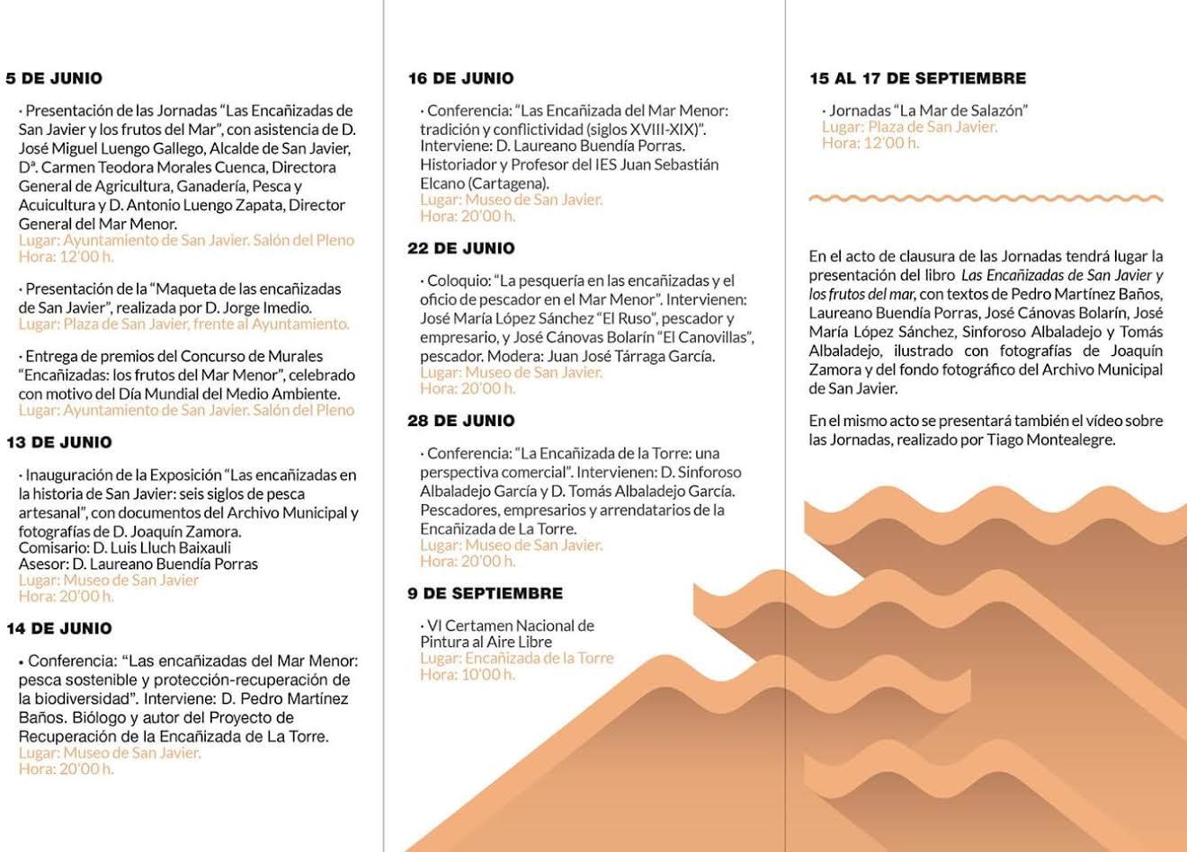 Conferencia sobre las encañizadas, con el Ayto. de San Javier