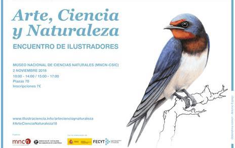 Encuentro de ilustradores 'Arte, Ciencia y Naturaleza'
