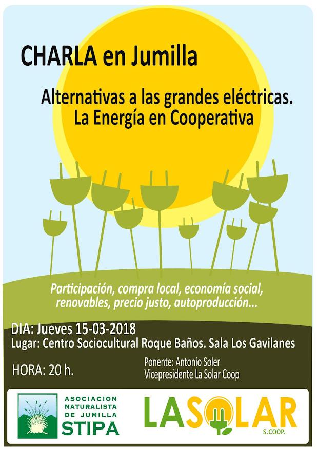 'Alternativa a las grandes eléctricas', con Stipa