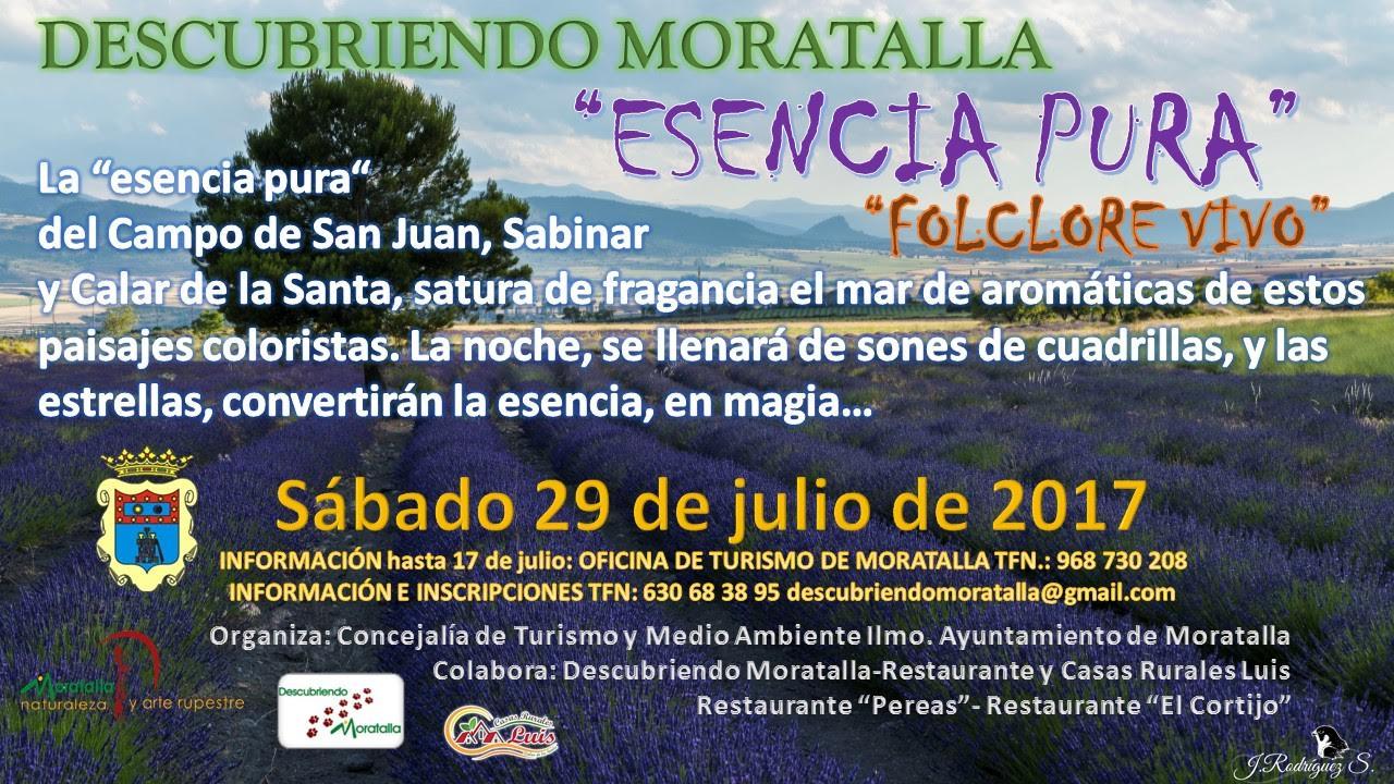 'Esencia Pura'VI, con el Ayto. de Moratalla