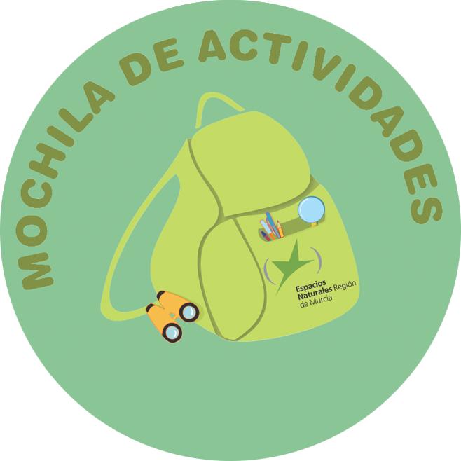 Logo de la Mochila de Actividades de la CARM