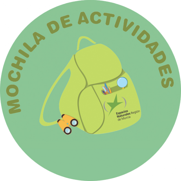 Logo de la Mochila de Actividades de los ENP de la Región de Murcia
