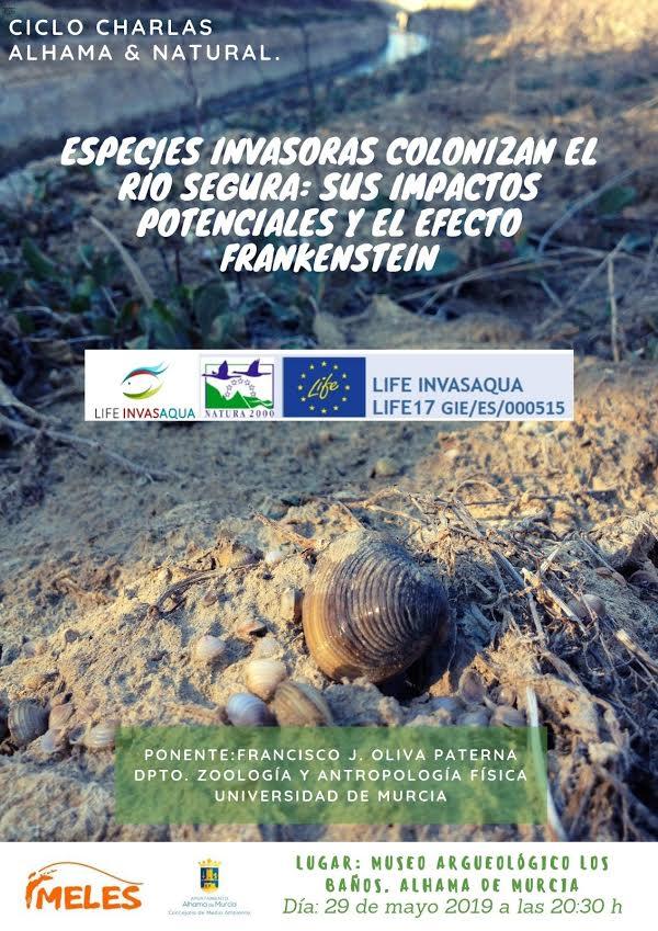 Charla sobre especies invasoras en el río Segura, con Meles